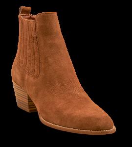 Tamaris kort damestøvel brun 1-1-25704-34