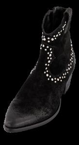 B&CO Korte damestøvletter Sort 5250500111