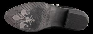 B&CO Korte damestøvletter Sort 5250500211
