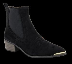 B&CO kort damestøvlett sort 5250500710