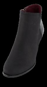 B&CO kort damestøvlett sort 5250501410