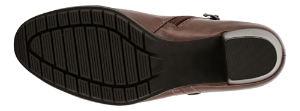 B&CO Korte damestøvletter Brun 5250501530