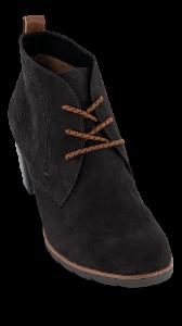 Marco Tozzi kort damestøvlett sort 2-2-25107-35