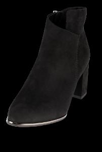 Marco Tozzi kort damestøvlett sort 2-2-25095-23