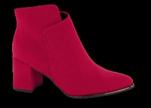 Marco Tozzi kort damestøvlett rød 2-2-25095-23
