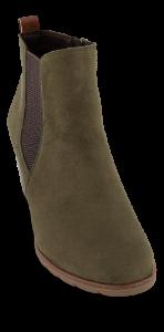 Marco Tozzi kort damestøvlett oliven 2-2-25355-35