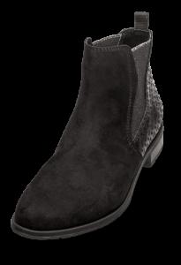 Marco Tozzi kort damestøvlett sort 2-2-25321-33