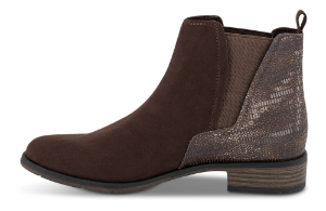Marco Tozzi kort damestøvlett brun 2-2-25321-35