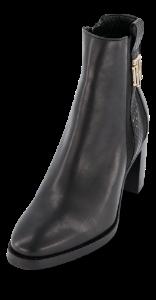 Tommy Hilfiger kort damestøvlett sort FW0FW05192
