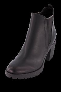 Marco Tozzi kort damestøvlett sort 2-2-25414-33