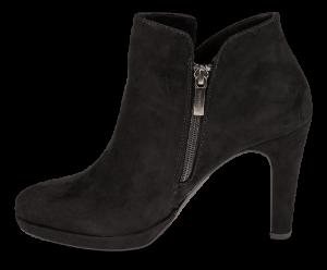Tamaris kort damestøvlett sort 1-1-25316-23