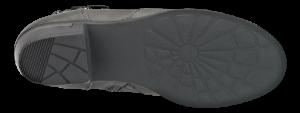 B&CO kort damestøvlett grå