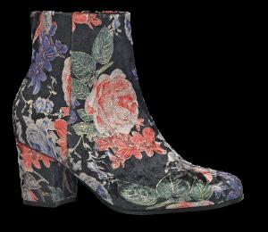 B&CO kort damestøvlett multi