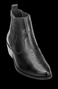 B&CO kort damestøvlett sort 5258503510