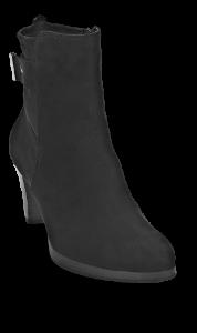 Marco Tozzi kort damestøvlett sort 2-2-25395-21