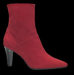 Tamaris kort damestøvlett rød 1-1-25367-21