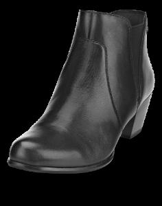 Tamaris kort damestøvle sort 1-1-25353-21