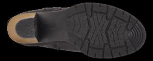 Rieker kort damestøvle sort Z1571-00