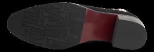 Tommy Hilfiger kort damestøvle sort FW0FW03629