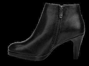 Marco Tozzi kort damestøvlett sort 2-2-25392-21