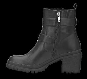 Tamaris kort damestøvle sort 1-1-25907-31