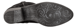 Tamaris kort damestøvlett sort 1-1-25750-31