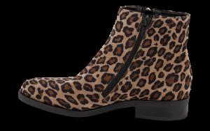B&CO kort damestøvlett leopard
