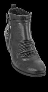B&CO damestøvlett sort