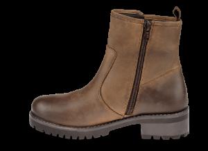B&CO kort damestøvlett brun