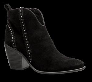 Marco Tozzi kort damestøvlett sort 2-2-25380-23