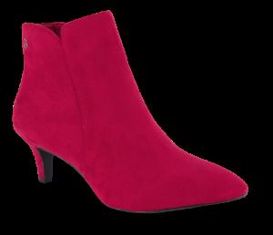 Tamaris kort damestøvlett rød 1-1-25072-23
