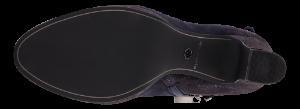 Tamaris kort damestøvlett navy metallic 1-1-25384-23