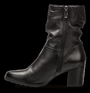 Caprice kort damestøvlett sort 9-9-25416-23