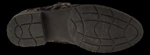 Marco Tozzi kort damestøvlett grå m/print 2-2-25321-33