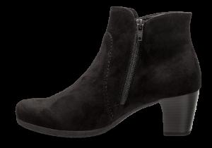 Gabor kort damestøvlett sort 35680