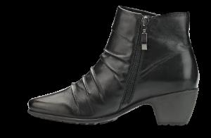 Nordic Softness kort damestøvlett sort