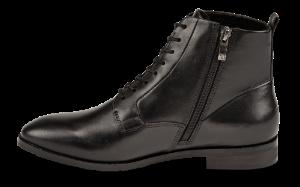 Caprice kort damestøvlett sort 9-9-25102-23