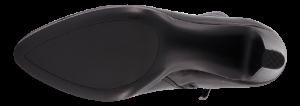 Caprice kort damestøvlett sort 9-9-25304-23