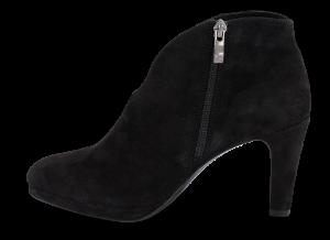 Caprice kort damestøvlett sort 9-9-25305-23