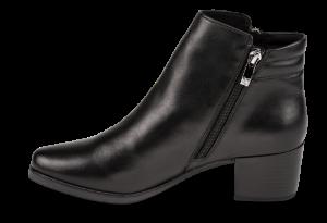 Caprice kort damestøvlett sort 9-9-25322-23