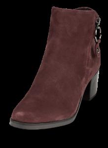 Caprice kort damestøvlett burgunder 9-9-25322-23
