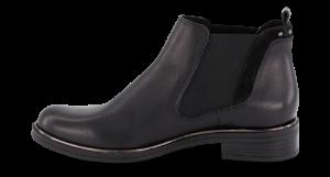 Caprice kort damestøvlett sort 9-9-25325-23