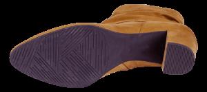 Marco Tozzi kort damestøvlett sennepsgul 2-2-25307-33
