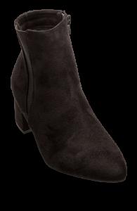 Duffy kort damestøvlett sort 97-00814