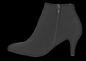 Duffy kort damestøvlett sort 97-85601