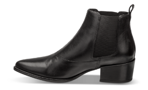 Vagabond kort damestøvlett sort 4213-501