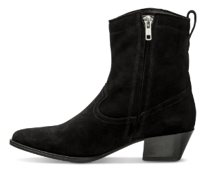 Vagabond kort damestøvlett sort 4814-240