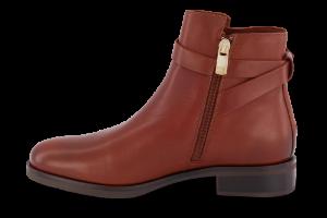 Tommy Hilfiger kort damestøvle brun FW0FW04280