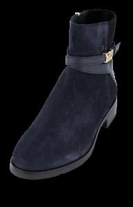 Tommy Hilfiger kort damestøvlett marineblå FW0FW04281