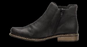 Rieker kort damestøvlett sort Z4994-00